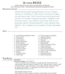 Clean Resume Template Custom Cleaner Resume Template Kappalab