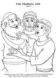the prodigal son coloring pages. Unique Pages Activity Sheets For The Prodigal Son  Google Search To The Son Coloring Pages D