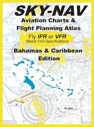 Bahamas Vfr Chart Sky Nav Bahamas And Caribbean