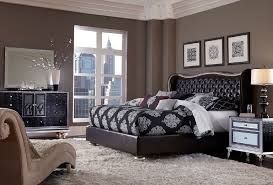 hollywood swank bedroom set.  Hollywood Swank Starry Night Bedroom Set Collection Aico Hollywood  Upholstered Dresser Mirror Black Iguana Inside O