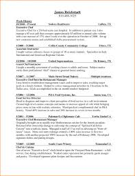 Pastry Chef Resume Examples Assistant Sample Resumes Image