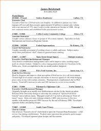 Executive Chef Resume Sample Professional Junior Sous Resumes