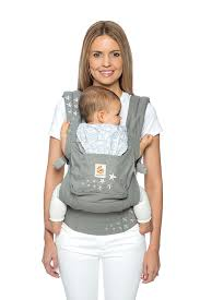 Original Baby Carrier - Soft Carrier - Blue Whales | Ergobaby