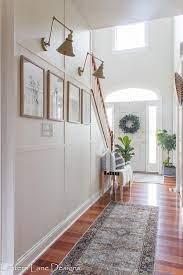 hallway decorating ideas for narrow