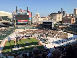 Metallica Comerica Park Seating Chart Concert Photos At Comerica Park