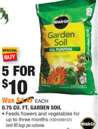 miracle gro garden soil home depot. Perfect Soil Also Get MiracleGro Garden Soil 5 For 10 Thru 0405 These Are Normally  447 Each To Miracle Gro Home Depot