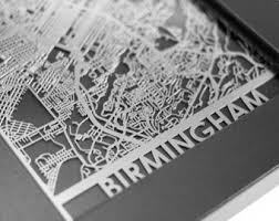 birmingham alabama stainless steel laser cut map 5x7 framed metal wall art on laser cut wall art metal with laser cut metal art etsy