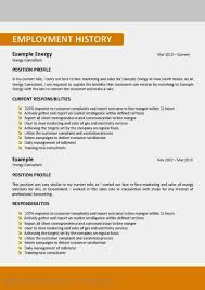 Show Me An Example Of A Resume Examples Of Resumes