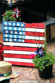 of outdoor decorations incredible patriotic garden decor idea for day easy yard decoration ideas fourth july of outdoor decorations