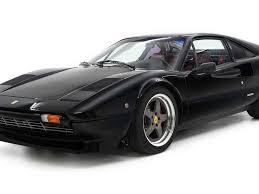 1976 ferrari 308 gtb $. Supercharged Ferrari 308 Gtb Is A Black Beauty