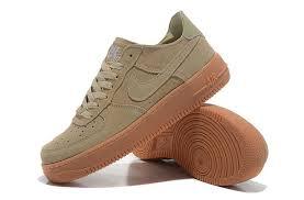 nike air force 1 basse. Nike Air Force 1 Low Suede Mens Shoes Beige Basse