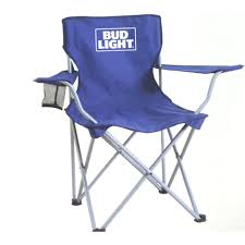 bud light leather chair
