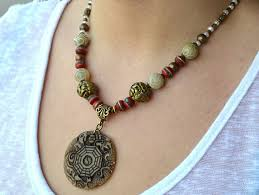 jade feng shui good luck tribal necklace good luck necklaces