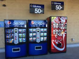 Walmart Vending Machine Enchanting Soda Machines Out Front Only 48 Yelp