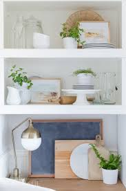 Shelving For Kitchen How To Style Open Shelving In The Kitchen A Burst Of Beautiful