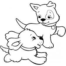 Disegni Cani E Gatti Da Colorare