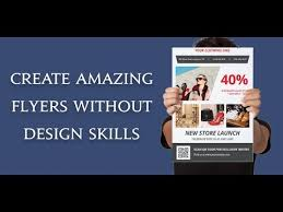 Create Advertising Flyers Flyer Maker Poster Maker Graphic Design Apps On Google Play