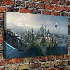 Star Wars Country Behind <b>Painting HD</b> Print on <b>Canvas</b> Home ...