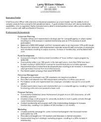 Summary Of Achievements Resume Examples Summary Of Achievements ...