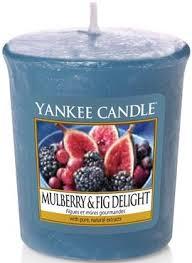 <b>Ароматическая свеча</b> - Yankee Candle <b>Mulberry</b> and Fig Delight ...