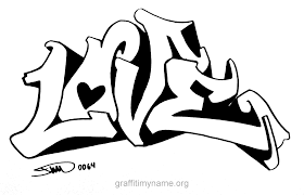 Small Picture 9 Pics Of Love You Graffiti Coloring Pages I Love You Graffiti
