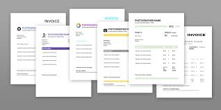 Invoice Template For Photographers 6 Photography Invoice Templates Free Download