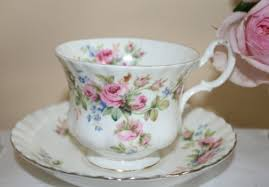 Rose Pattern China Fascinating Vintage Royal Albert Bone China Cup Saucer Moss Rose Pattern