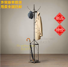 Wrought Iron Coat Rack Stand Inspiration Vintage Coat American Country To Do The Old Wrought Iron Coat Rack