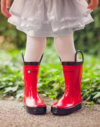 Oakiwear Rain Boots Size Chart Oakiwear Rubber Rain Boots Red Size 8