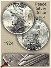 1924 Peace Silver Dollar Value Discover Their Worth