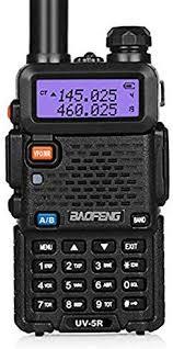 BaoFeng UV-5R Dual Band Two Way Radio (Black ... - Amazon.com