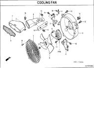 honda trx400fa wiring diagram honda diy wiring diagrams 2006 honda fourtrax rancher 400 at trx400fa cooling fan parts