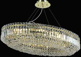oval crystal chandelier gold light pendant g with drum shade