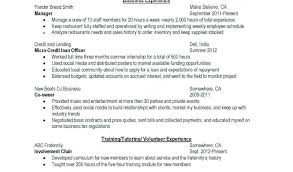 Fraternity Resume 43 Best Fraternity Resume Template With Design