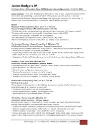 James Rodgers Resume