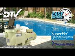 how to replace or install a new pool pump pentair superflo how to replace or install a new pool pump pentair superflo