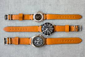 10 great horween watch straps for timepieces new and old