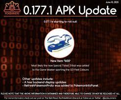0.177.1 APK Teardown - New ticket (Likely Go Fest): TheSilphRoad
