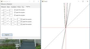 weisscalc is good factoring quadratics calculator for pc it is a simple calculator which is good for finding roots of a quadratic equation in just a