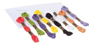 Купить <b>набор</b> для творчества <b>Bondibon вышивка</b> на хлопковой ...