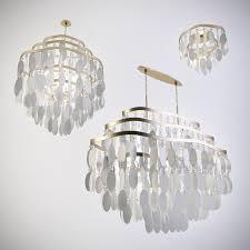 3d model lamp lighting chandelier hanging lamps architecture modern