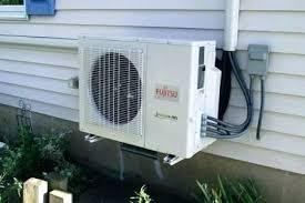 mitsubishi air conditioner cost. Mitsubishi Slimline Air Conditioner Ductless Cost Installation C