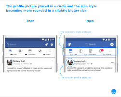 Facebook Interface Design Facebooks New User Interface Design Impacts Its User