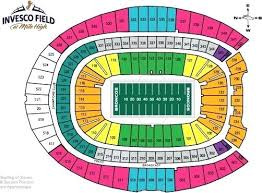 Denver Invesco Field Seating Chart Broncos Stadium Seating Televisionnetwork Co