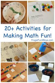 20 hands on activities for making math fun grades 1 4