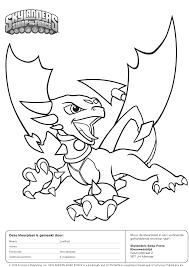 Skylanders Coloring Pages Corib