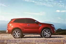 ford ranger concept 2019. ford everest based bronco concept rendering ranger 2019