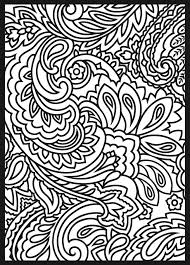 Paisley Pattern Coloring Pages At Getdrawingscom Free For