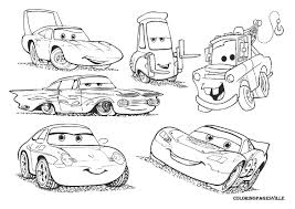 elegant disney pixar cars coloring pages 6