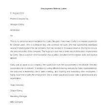 Employee Referral Cover Letters Referral Cover Letter Referred By Employee With For An Referr